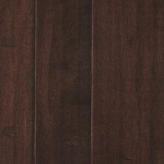 "Mohawk Kearny Walnut 1/2"" Thick x Random Width x Varying Length Engineered Hardwood Flooring Basement Flooring Options, Vinyl Flooring, Engineered Hardwood Flooring, Hardwood Floors, Floor Paint Design, Painting Basement Floors, Mohawk Flooring, Rainfall Shower, Wire Brushes"