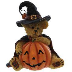 Boyds Bears Resin TABITHA BOOBEARY 4041875 Halloween Jack-O-Lantern