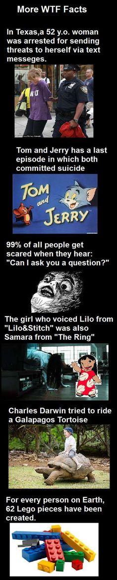 Weird Facts #2