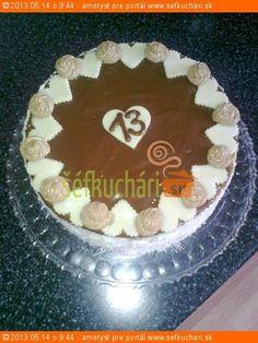 Základný recept na štandartnú trojvrstvovú tortu Tento recept Vám dáva do pozornosti: Šéfkuchári.sk
