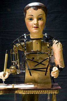 Automaton- in Franklin institute Philly