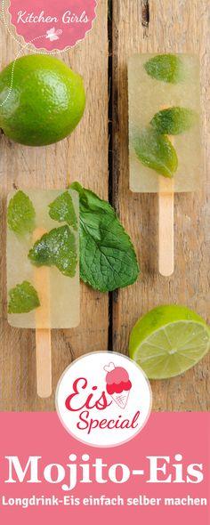 Wir zeigen Euch, wie Ihr erfrischende Mojito-Popsicles selber machen könnt - egal ob mit oder ohne Alkohol!