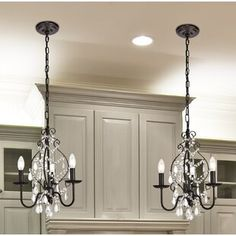 House of Hampton Archway 3 Light Candle Style Chandelier