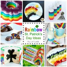 Clean & Scentsible: St. Patrick's Day Rainbow Ideas