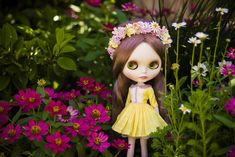https://flic.kr/p/pv6PZ8 | the enchantment of marguerite | ~ dressed by trio, crowned by duchess darling, and surrounded by late spring blooms.