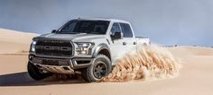 The 2017 Ford Raptor's incredible new color is called Avalanche Grey and yes, you'll be able to get