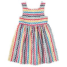 Ric Rac Girls Square Neck Dress