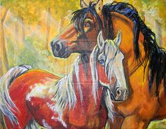 this is a commission I just finished - Spirit: Stallion of the Cimarron and his pretty mare Rain acrylic on canvas board inches the real Spirit and Rain Spirit The Horse, Spirit And Rain, Horse Drawings, Animal Drawings, Disney Horses, God Of Wonders, Native American Horses, Comic Drawing, Horse Art