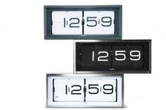 leff amsterdam brick walldesk clock brick desk wall clock
