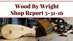 Report, Stanley 71 Router Plane, Spoon Rest, Lots of Videos and More