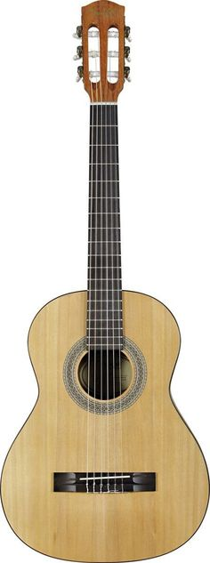 Fender MC-1 3/4 Size Nylon String Guitar Fender's MC-1 and MA-1 mini guitars have been upgraded! The MC-1 3/4 size nylon string acoustic now plays much like a more expensive full-size guitar, and prov