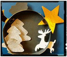 Paysage de Noël Christmas Paper Crafts, 1st Christmas, Creation Deco, Bat Signal, Superhero Logos, Winter, Barbie, Animation, Blog
