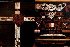 Lying in the Black Land Shane Cotton Painter Artist, Artist Painting, Cotton Painting, Maori People, New Zealand Art, Nz Art, Famous Artwork, Italy Art, Maori Art