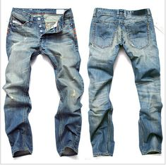 Find More Jeans Information about 2014 Fashion Men Classic Straight Short Jeans Cotton ripped hole disel jeans White Shorts Men's jeans pants big size,High Quality Jeans from Lily's love store on Aliexpress.com