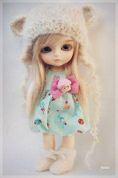Lati bjd Nya Fluffy Bear <3 | Flickr - Photo Sharing!