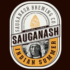 Jack Muldowney Design Co. — Sauganash Brewing Co. #loveyourlabel