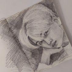 Kpop Drawings, Art Sketches, Amazing Art, Jay, Painting, Dibujo, Painting Art, Art Drawings, Paintings