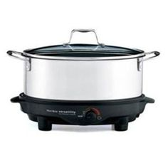 West Bend 6Qt Versatility Slow Cooker Base doubles as a mini griddle perfect for grilling a burger, eggs, toasted cheese sandwiches and more $74.99