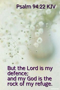 Psalm 94:22 KJV