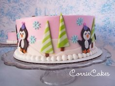 OMG...I almost wish we had a Winter bday to do this theme! Penguins are SOOO cute!