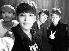 Eunhyuk , Ryeowook , Donghae and Henry