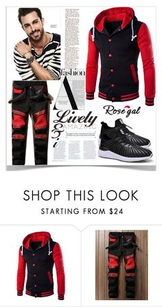 """""""How to Style Men's Hoodie"""" by kiveric-damira ❤ liked on Polyvore featuring men's fashion and menswear"""