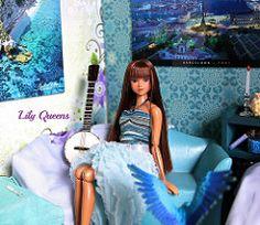 Grail ( Lily Queens ) Tags: beach doll ooak ini rodeo custom grail sekiguchi momoko repaint reroot