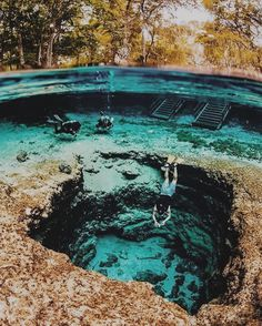 Amazing Places to Visit in Florida Ginnie Springs, Florida, U.Ginnie Springs, Florida, U. Vacation Places, Dream Vacations, Vacation Spots, Vacation Trips, Vacation Ideas, Oh The Places You'll Go, Cool Places To Visit, Fun Places To Travel, Magic Places