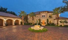 Mediterranean estate in Jonestown, Texas