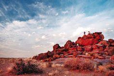 One of many remarkable 'sundowner spots'.Namibia.