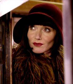 """""""This Looks Exciting Already!"""" ~ Phryne Fisher (Essie Davis) ~ Miss Fisher's Murder Mysteries ~ """"Murder On The Ballarat Train"""" ~ Season 1 Episode 2"""