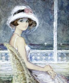 Художник Bernard Charoy (French, 1931)