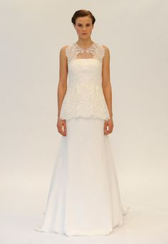 Lela Rose (FW 2014-2015) #weddingdresses #vestidodenovia #NYBW