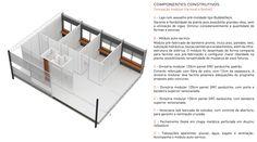 Galeria - Proposta finalista do concurso para a Moradia Estudantil da Unifesp Osasco / Albuquerque + Schatzmann arquitetos + Diego Tamanini + Felipe Finger - 20