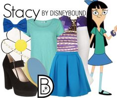 Disney Bound - Stacy (Phineas and Ferb)