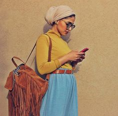 dubaifashion dubaistyle tendance paris newyork lux london losangeles makeupartist modefashion mode mariage maimi germany girl egypt elle summer style she algerienne ausralian beauty new t clothes women chic instafashion karakou_algrien Hijab Turban Style, Mode Turban, Hijab Outfit, Turban Outfit, Muslim Fashion, Modest Fashion, Hijab Fashion, Fashion Outfits, Modest Outfits