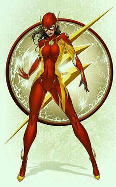 Jessie Quick / The Flash (Earth 2)