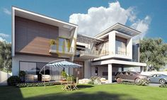 Contemporary Residence by Galleria Designs (Renderings by Furqan Sheikh) – info-360