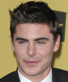 Zac Efron Hairstyle - Short Straight Casual -