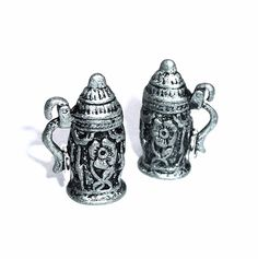 Beer Stein Charms 2pcs by TheThinVeil on Etsy
