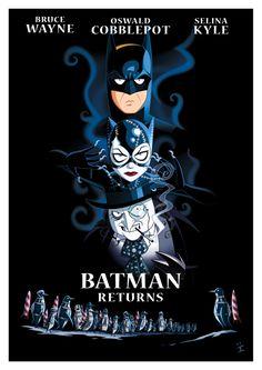 Funny Batman Returns Poster