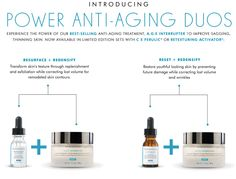 Restore youthful looking skin by preventing future damage while correcting lost volume and wrinkles. #AntiAging #SkinCeuticals #YuvaMedicalSpa