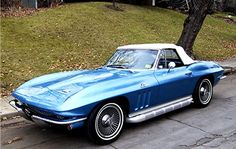 1966 Stingray Convertible...Called the Harley Earl...retired