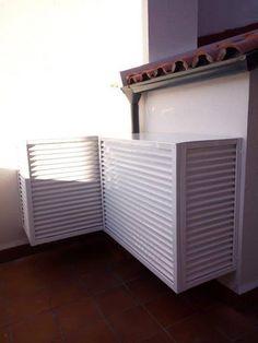 tapaaire.com    Cubierta embellecedora para aire acondicionado de aluminio, varios modelos, todos los colores