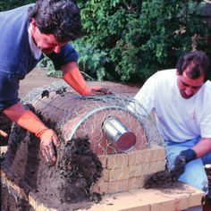 Step 9 - Build an Outside Oven - Sunset