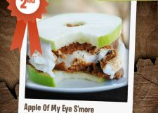 Apple Of my Eye S'more – 2nd Place Winner! | Campfire Marshmallows- $300 and a s'mores gift box!!