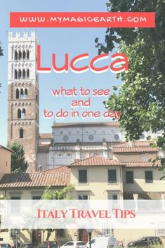 Lucca is one of the charming cities in Tuscany. Located on a plain at the door of the Apuan Alp, the city is very easy to reach either by cars or by trains from Pisa and Florence.   #italy #destination #adventure #adventuretime #daytrip #town #medieval  #traveltips #travelblog #places #travellife  #europe  #liguria #lucca #village #tuscany #toscana #Lucca #意大利