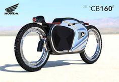 Honda CB160E motorbike  , - ,   Inspired from th...