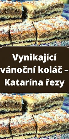 Czech Desserts, A Table, Beef, Cheesecake, Deserts, Food And Drink, Sweets, Baking, Breakfast