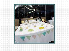 Candy Bar Origami. Mesa de chuces para bodas, bautizos o comuniones. Wedding. Mesa de dulces